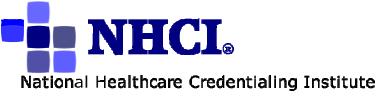 National Healthcare Credentialing Institute